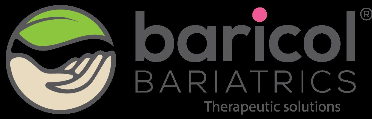 Baricol bariatrics logga i grönt svart och rosa
