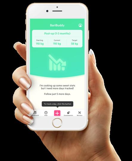 BariBuddy app för överviktsopererade