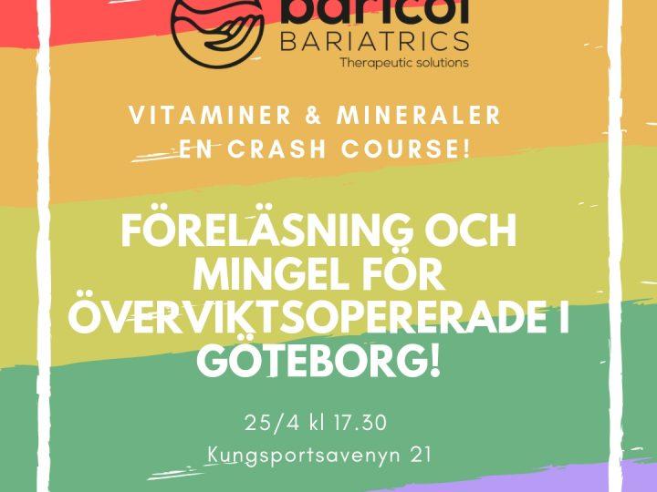 Event för viktopererade i Göteborg!