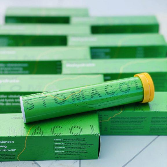 Stomacol rehydrate vätskeersättning för överviktdopererade 10 gröna förpackningar