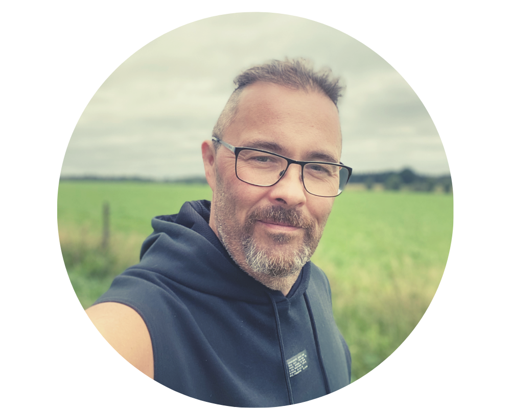 Profilbild på Micke Liljedal efter gastric sleeve
