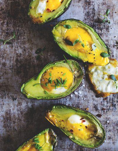 Avokado med ägg recept från ett liv med sleeve